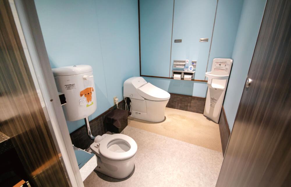 小児用トイレ